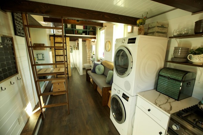 A Look Inside Some of the Most Glamorous Tiny Homes for Sale: tiny cottage
