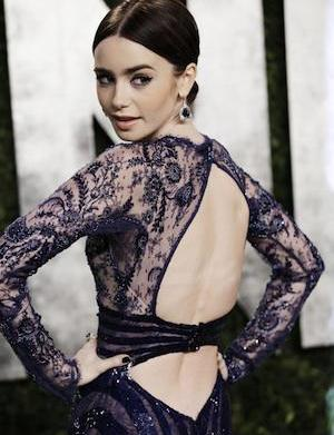 Lily Collins sees demons galore in
