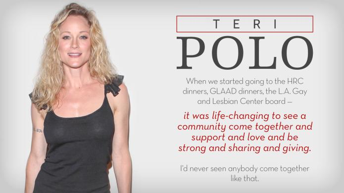 Teri Polo on LGBT rights before
