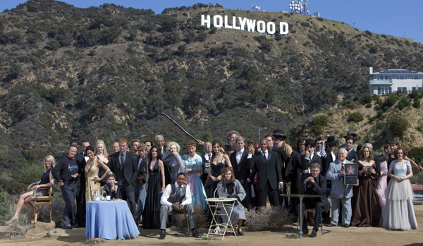 Madame Tussauds' Oscar photo