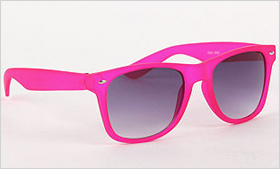 With Love from California Rubber Sunglasses