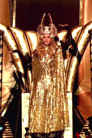 Madonna isn't too scandalous on MDNA
