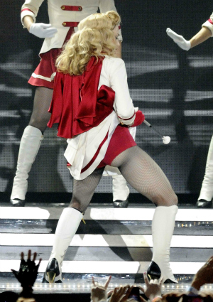 Madonna on her MDNA Tour in Canada