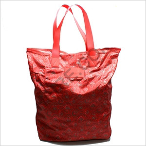 Marc by Marc Jacobs red nylon tote bag