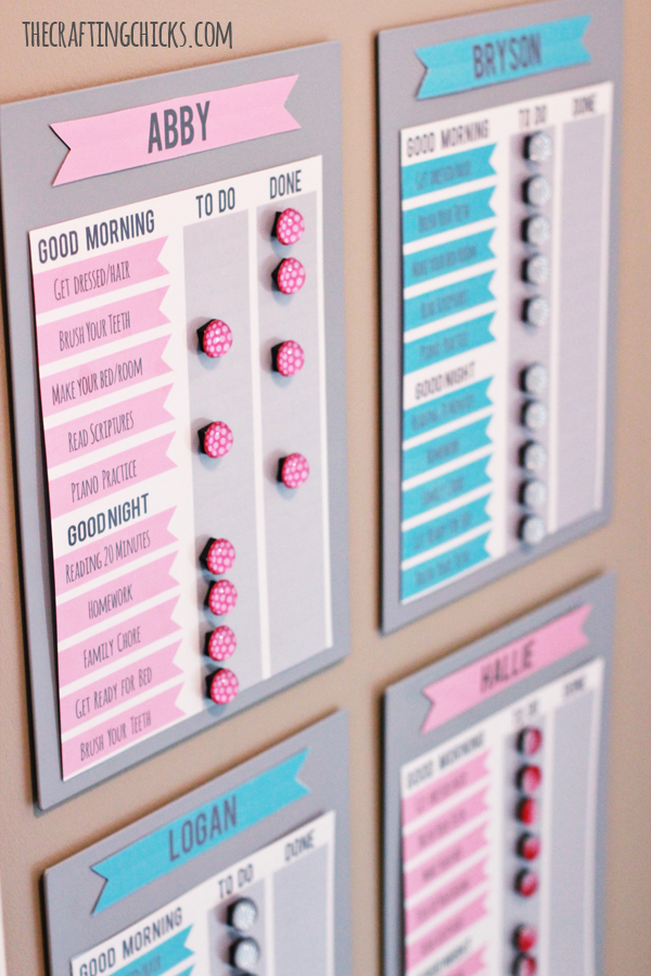 magnetic board to do list