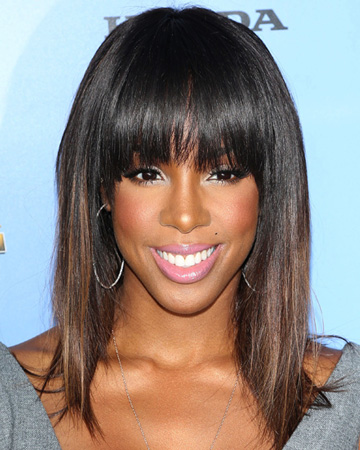 Kelly Rowland -- Makeup tips for oblong faces