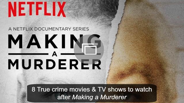 making a murderer shows slideshow