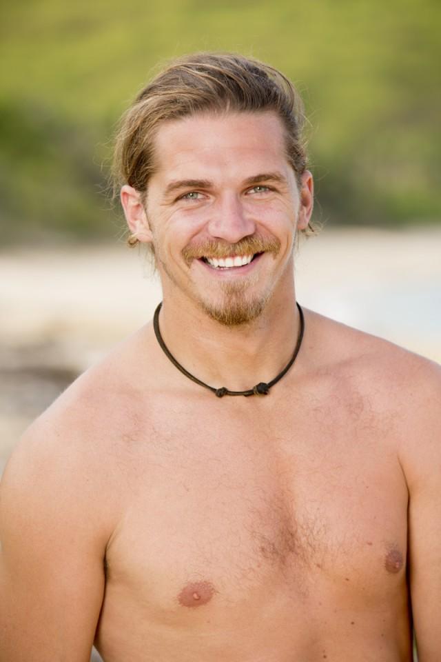 Malcolm Freberg cast photo for Survivor: Game Changers