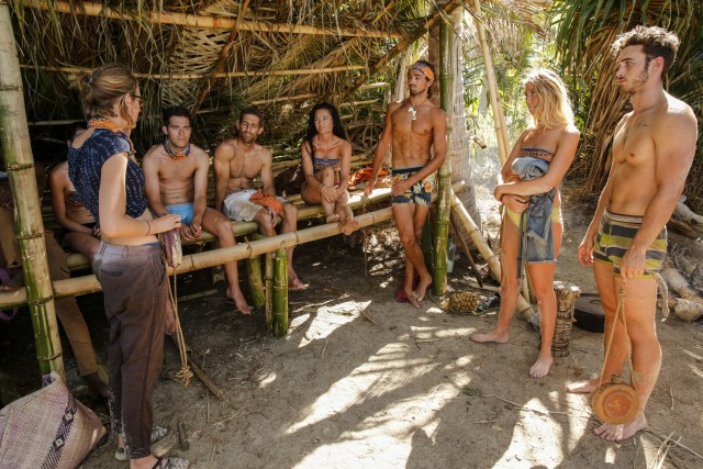 Malolo tribe at camp on Survivor: Ghost Island