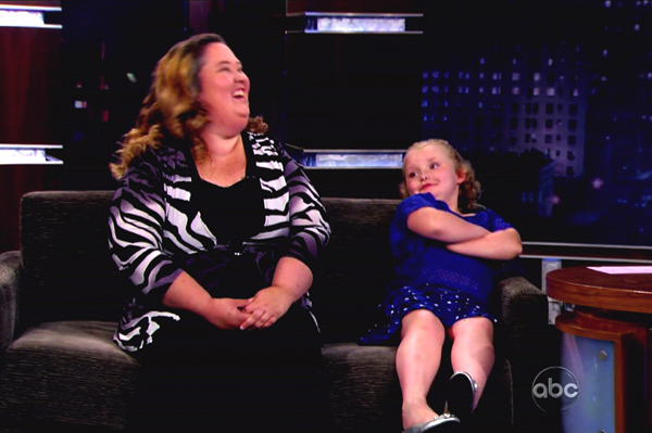 Mama June and Honey Boo Boo on television