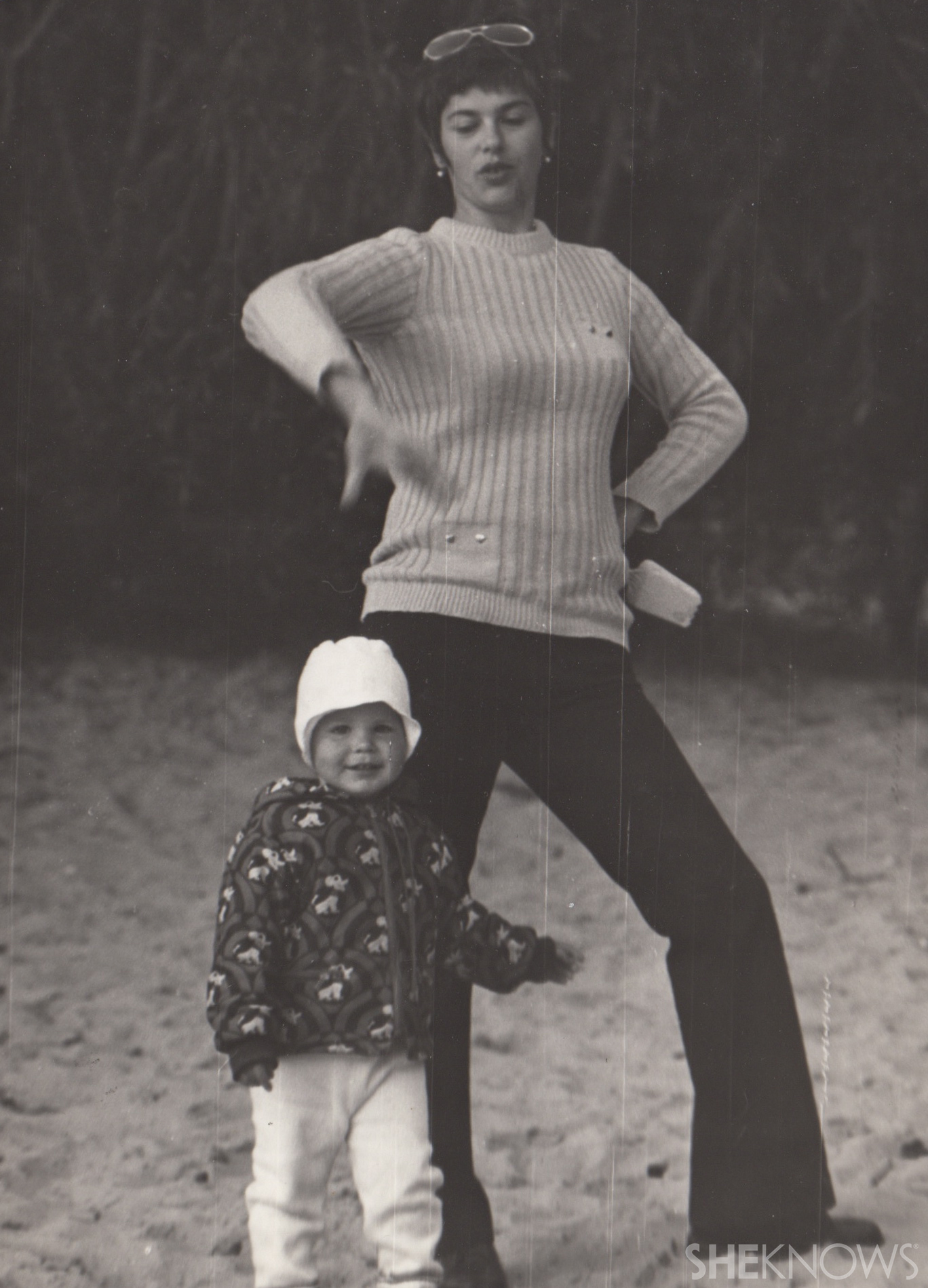 Masha Sapron and her mother | Sheknows.ca