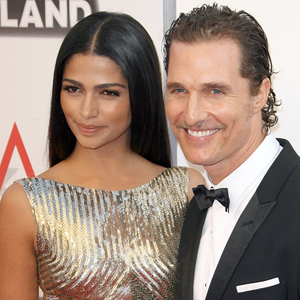 Matthew McConaughey and wife