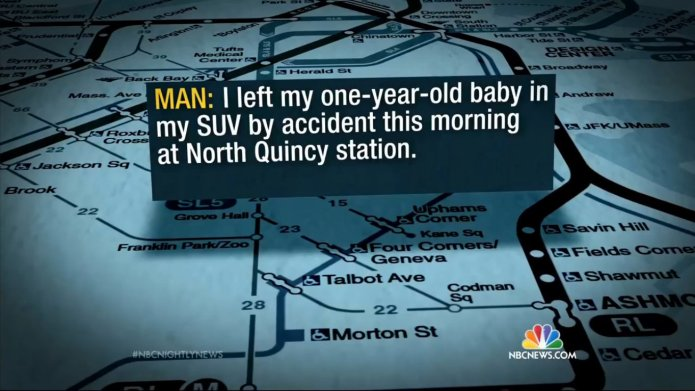 Dad calls 911 after he accidentally
