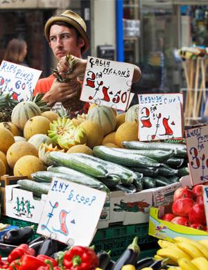 London farmer's market