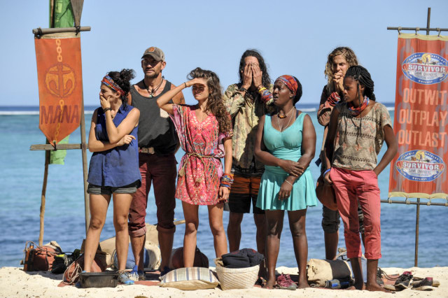 Hali Ford with Mana tribe before merge on Survivor: Game Changers