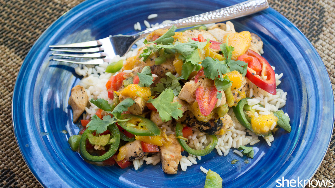 fresh mango chicken tinga recipe