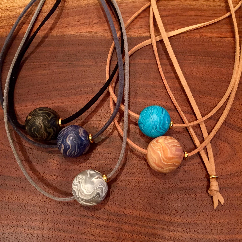 Marbelous necklaces