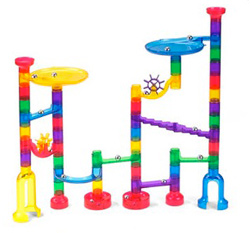Clear view marble run (Lakeshore Learning Center, $19.99)
