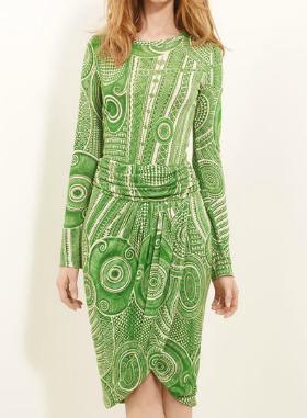 margarita green dress