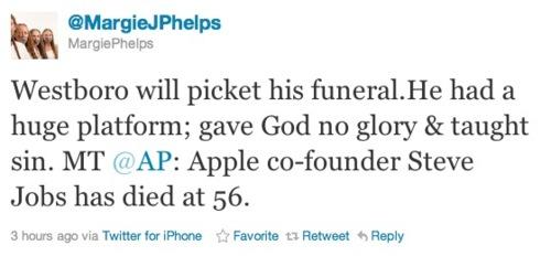 Margie Phelps Twitter