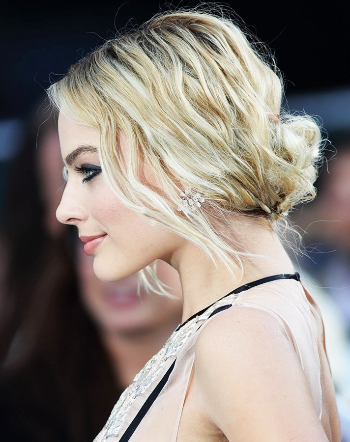 Rolled-and-Pinned Chignon