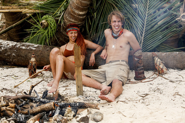 Mari Takahashi and Will Wahl on Survivor: Millennials Vs. Gen-X