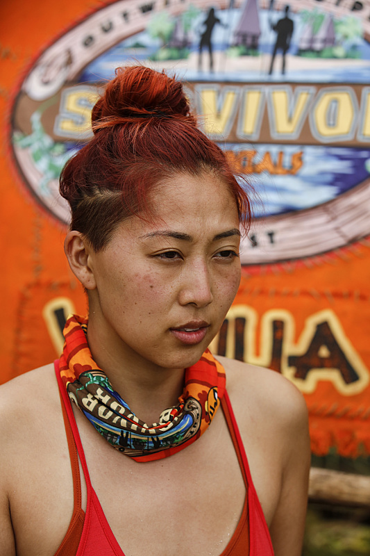 Mari Takahashi of Millennials tribe on Survivor: Millennials Vs. Gen-X