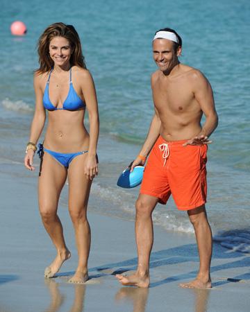 Maria Menounos with boyfriend Kevin