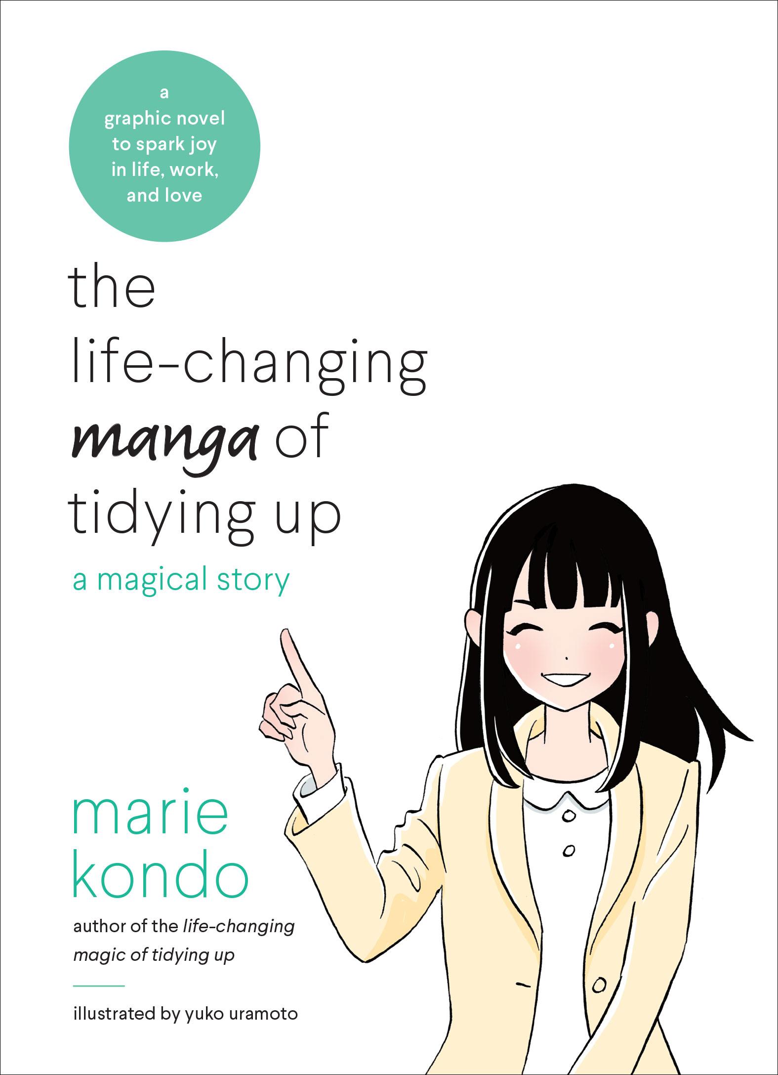 marie kondo graphic novel cover
