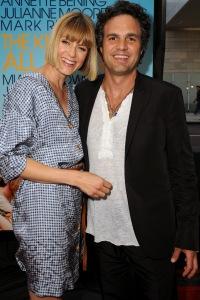 Mark Ruffalo and his wife
