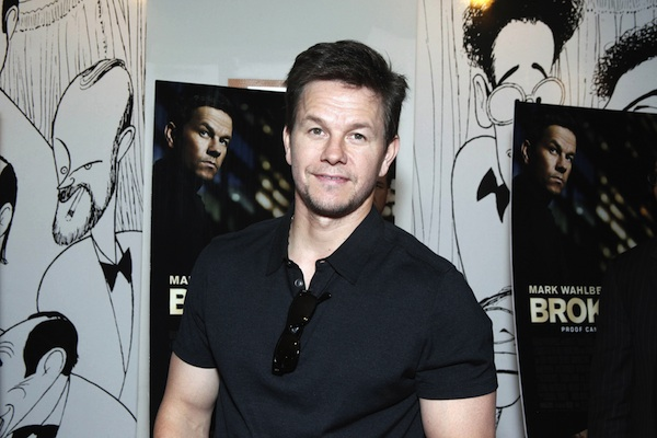 Mark Wahlberg and Broken City director Allen Hughes.