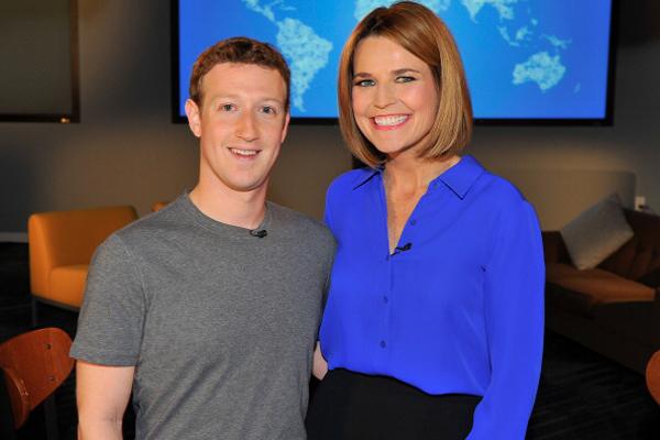 Mark Zuckerberg, Savannah Guthrie