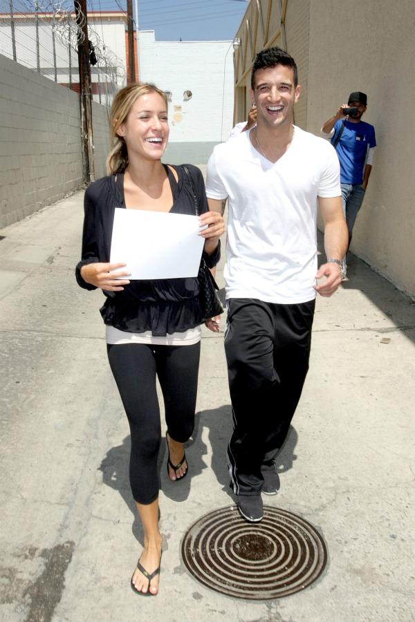 Kristen Cavallari and Mark Ballas