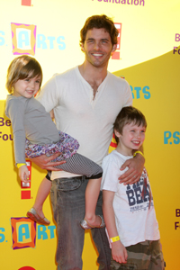 James Marsden and kids