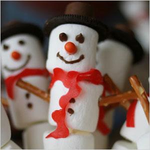 Marshmallow snowman | Sheknows.com