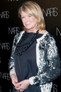Martha Stewart at a Nars Launch