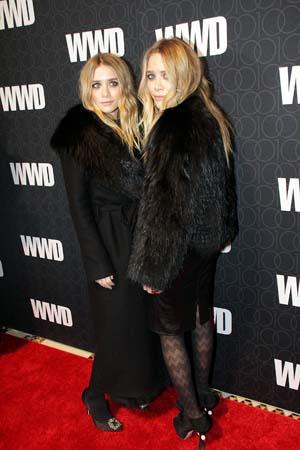 PETA named Ashley Olsen worst dresses wearing fur