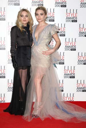 Mary Kate and Ashley Olsen grow as fashionistas