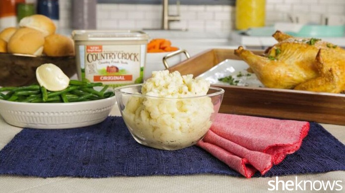 Mom vs. World: Creamy mashed potatoes