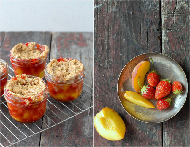 Fruit Crumble Jars
