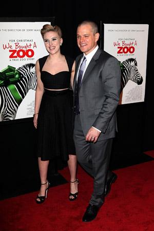 Matt Damon stars in We Bought a Zoo