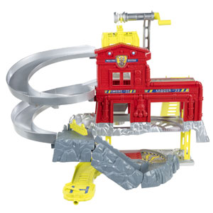 Matchbox Cliffhanger Fire Station