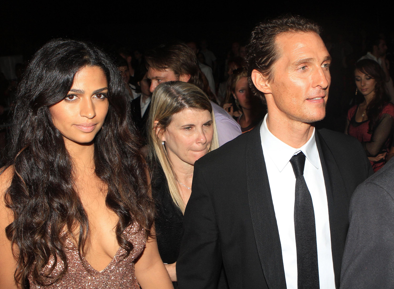 Matthew McConaughey Camila Alves