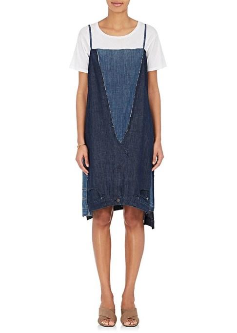 Denim Dresses Are Back: 6397 Repurposed Denim Slip Dress | Summer Fashion Trends