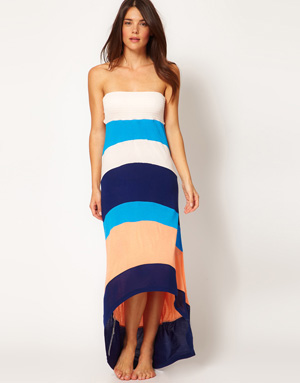 color block maxi dress from River Island