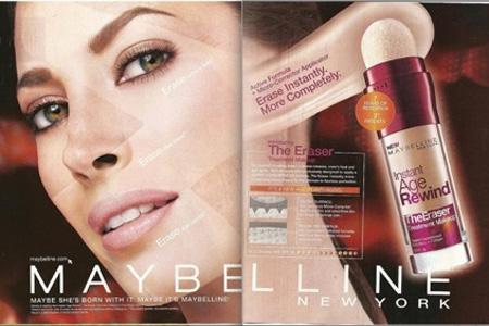 Christy Turlington Maybelline ad