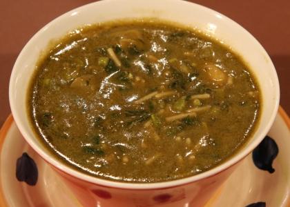 Mazie's pepper pot soup