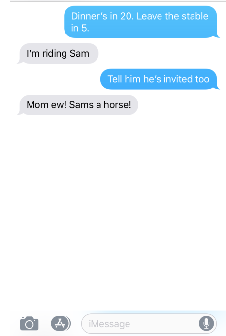 """The Funniest """"Texts from My Teen"""" - mom jokes"""