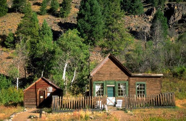 Custer Historic Mining Town: Challis, Idaho