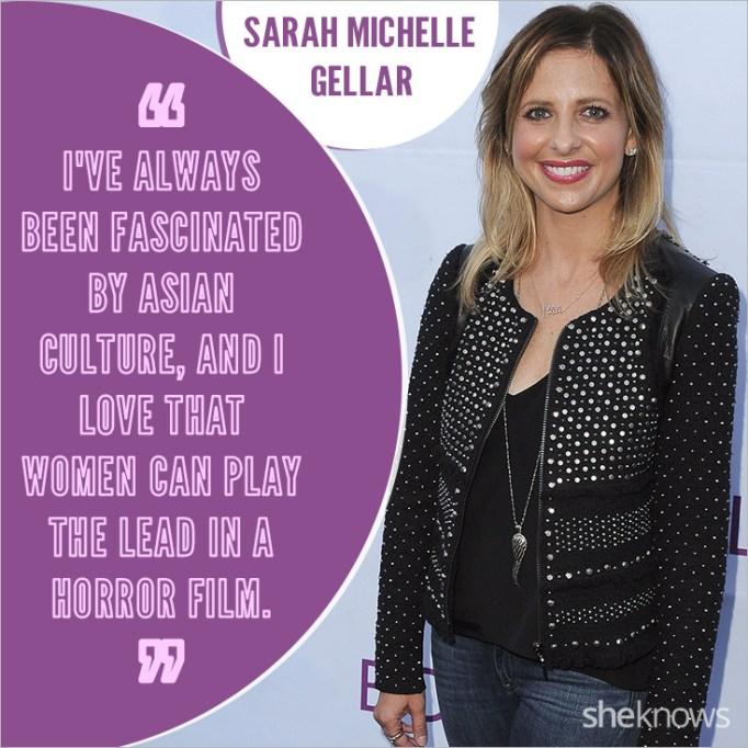 Sarah Michelle Gellar quote